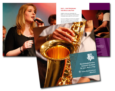 Broschüre »JazzProjekt Kompakt-Studium«